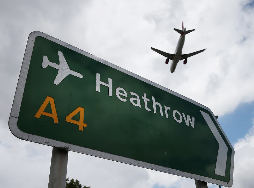Campaigners alerted passengers at HeathrowAirport that Mr Bigzad was due to be forced back to Afghanistan on their flight(