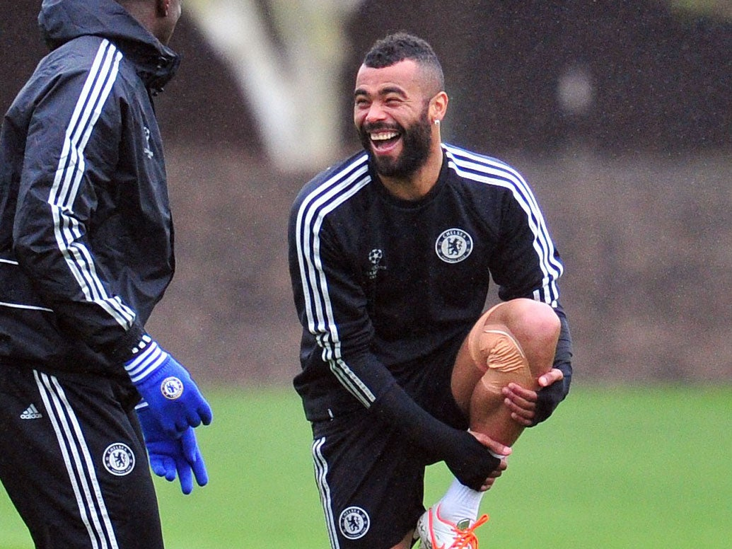 Ashley Cole admits he is still laughing over controversial Arsenal