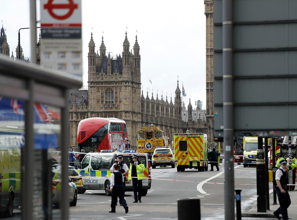 PC Nick Carlisle was one of the unarmed Metropolitan Police officers posted at gates outside the Houses of Parliament when Khalid Masood burst through with a knife