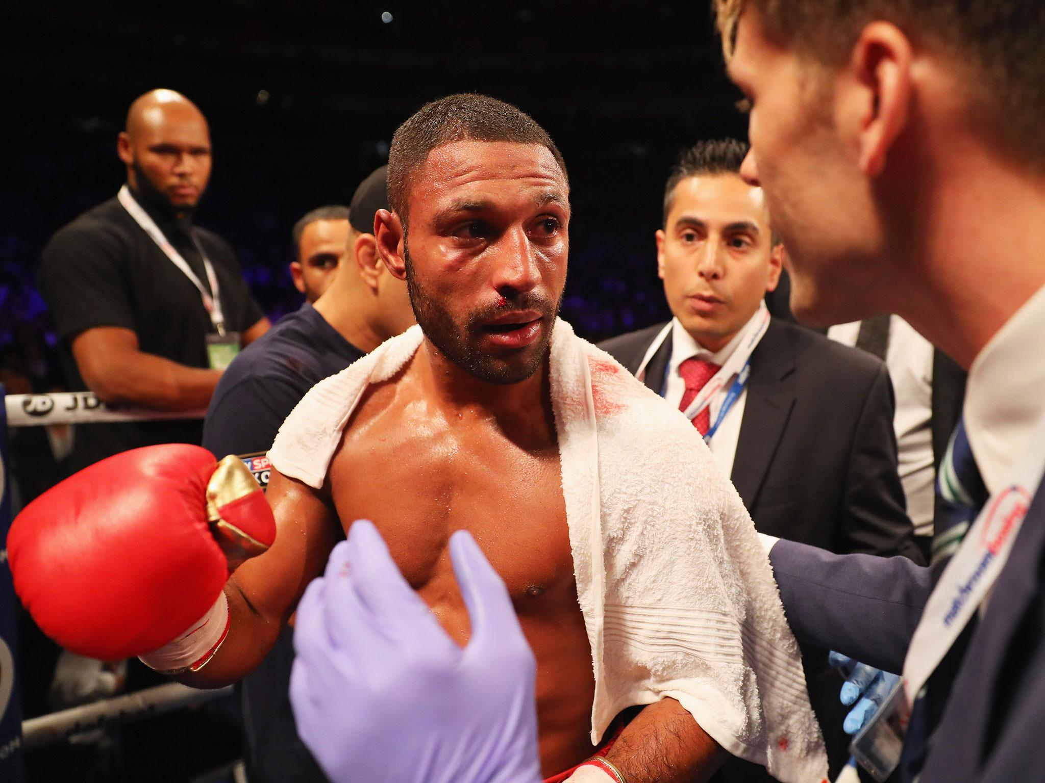 Stabbed in Tenerife, Kell Brook now tortures himself in