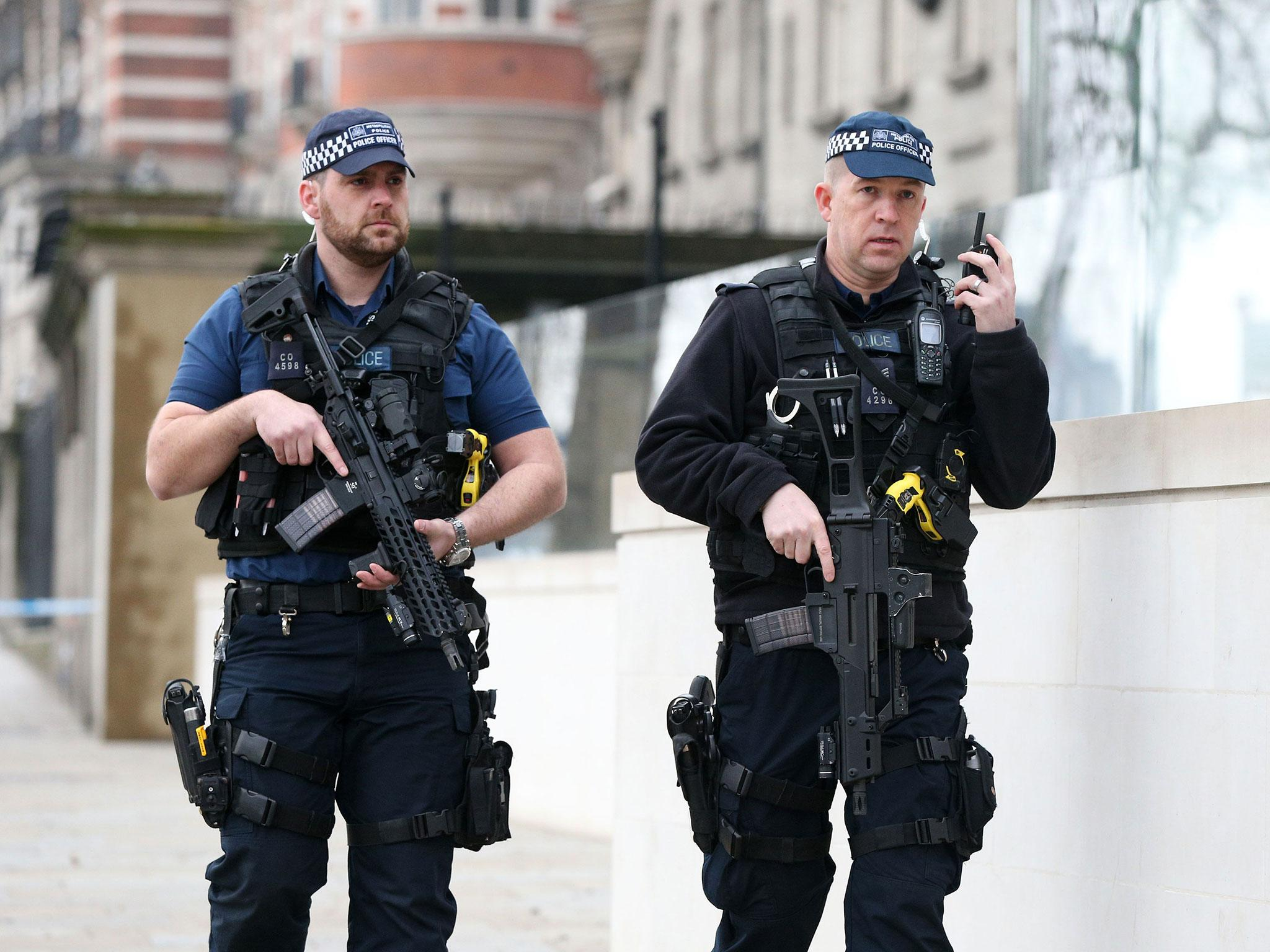 British police could be 'routinely armed' to respond to terror threat in rural areas