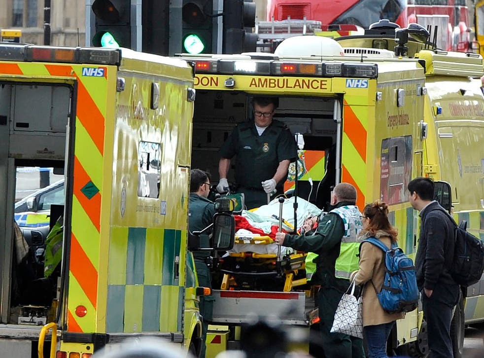 Paramedics have faced daunting situations in the wake of various terror attacks and the Grenfell Tower disaster
