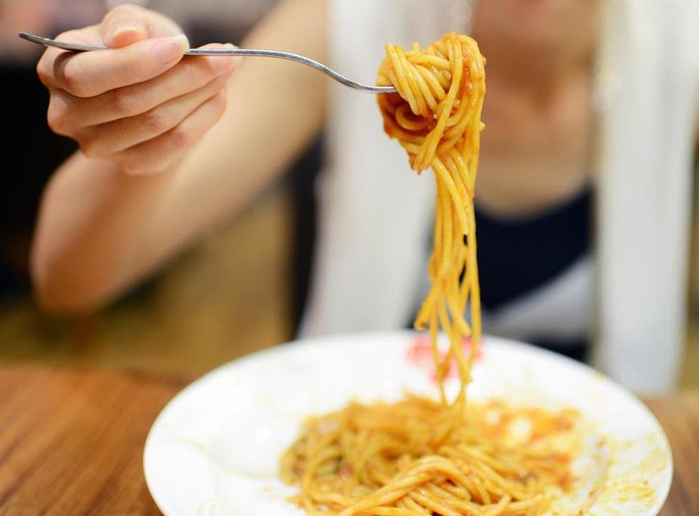 Many people think that eating carbs, like spaghetti, in the evening is bad for you. But are they right?