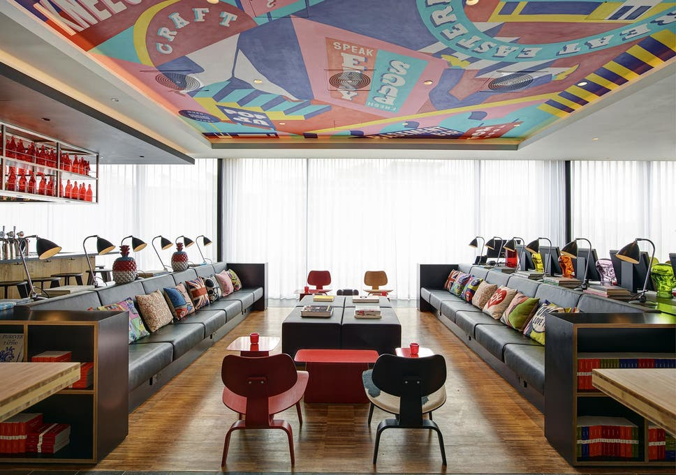design hotel citizenm london, citizenm shoreditch: the dutch chain bringing style to london's, Design ideen