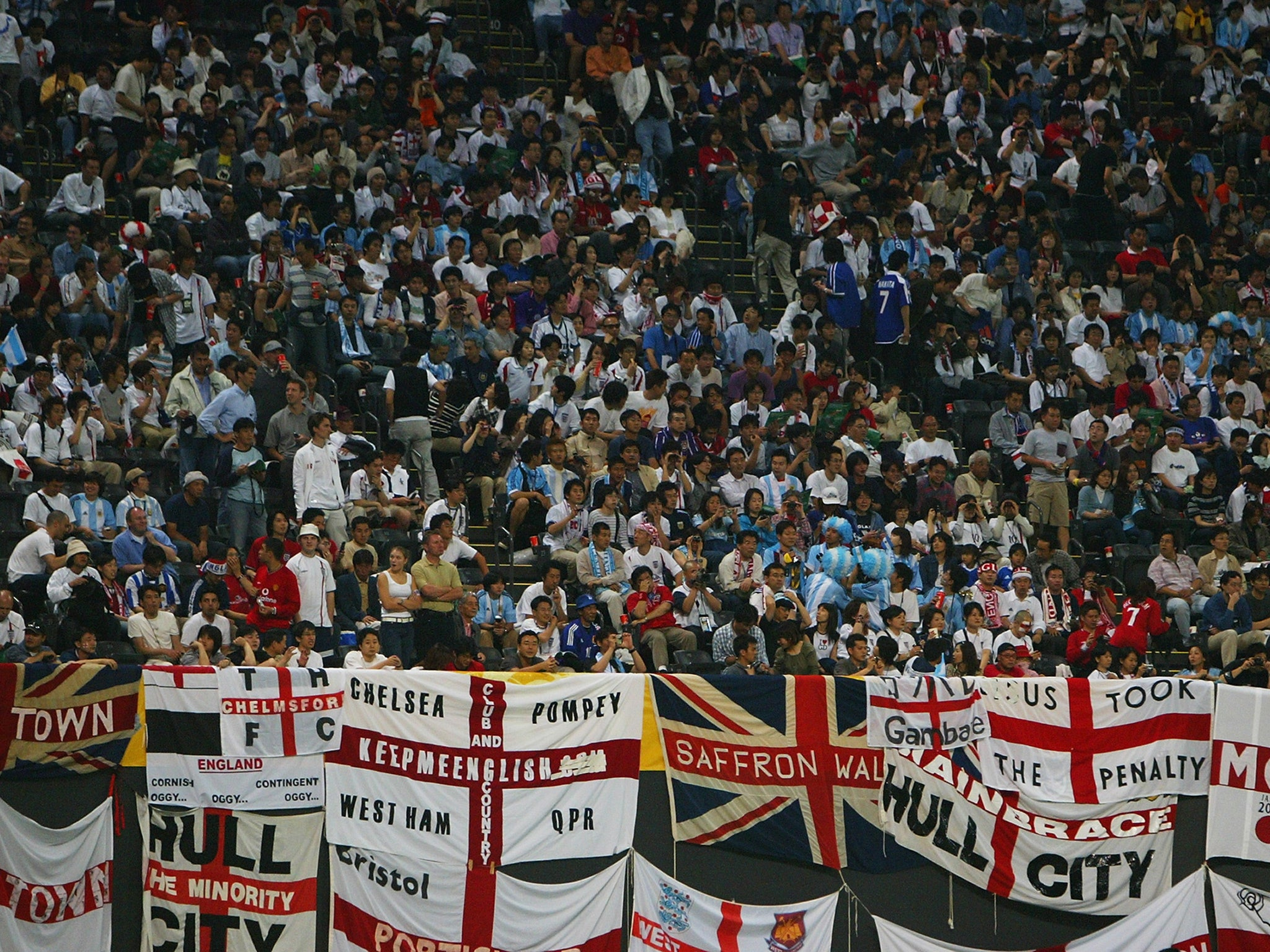 England fans' chants in Germany condemned by Football Supporters' Federation | The Independent