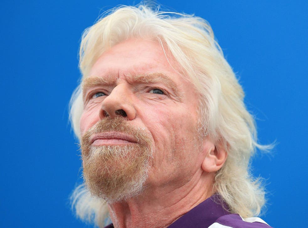 Richard Branson, billionaire owner of the Virgin Group