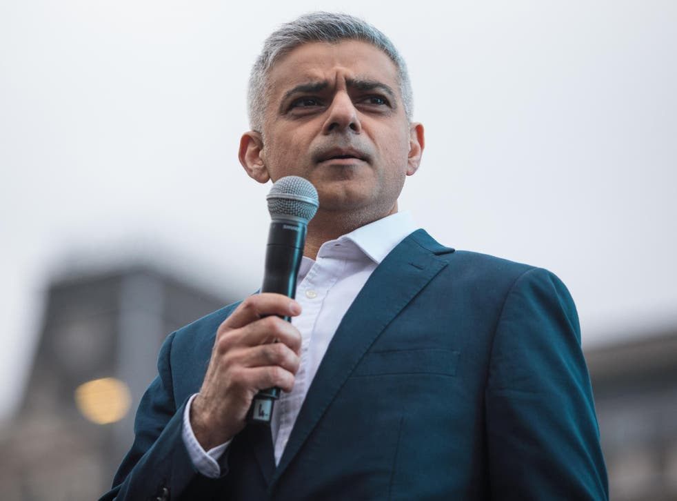 Sadiq Khan has himself been criticised for presiding over a rise in violent crime since becoming London Mayor in 2016