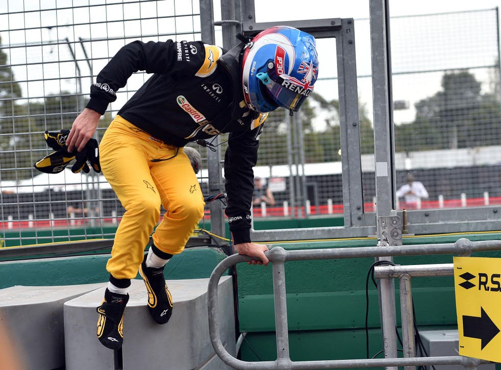Palmer will leave Renault on Monday