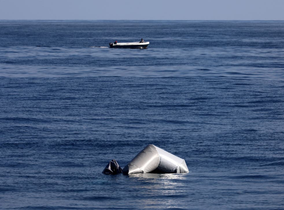Latest disaster comes days after two dinghies found sunk in the Mediterranean Sea