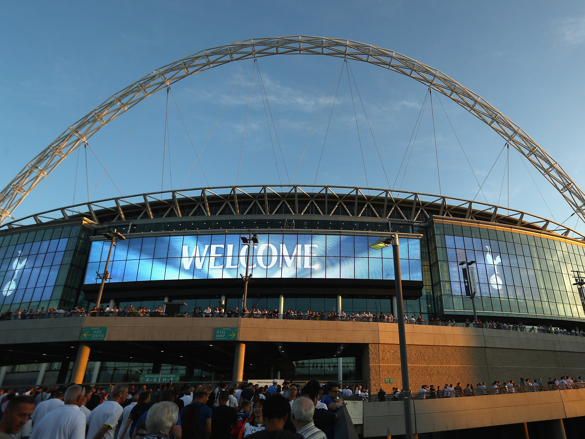 Tottenham granted permission for Wembley games at full ... Target Logo 2017