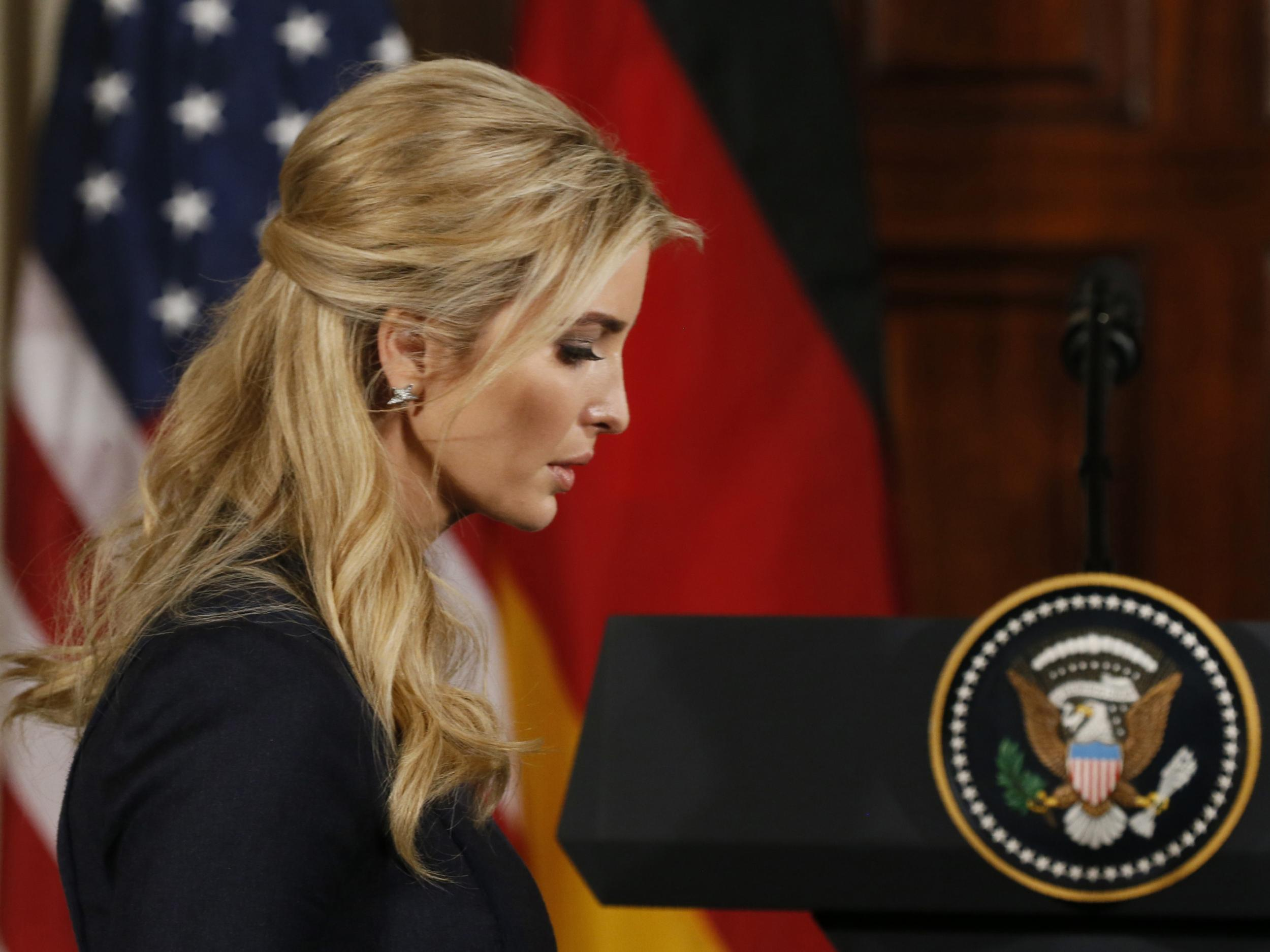 Ivanka Trump has her own office in the White House and people are furious