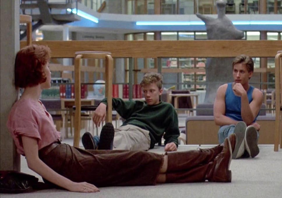 The Breakfast Club: Deleted scene shows Molly Ringwald and Ally ...
