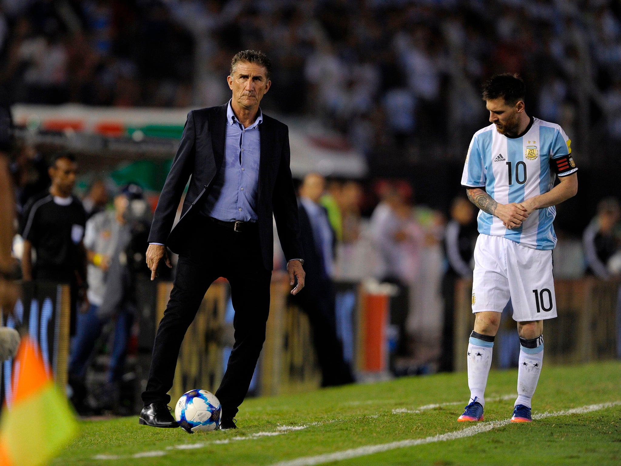 Argentina coach Edgardo Bauza to be sacked as World Cup qualification hangs in the balance