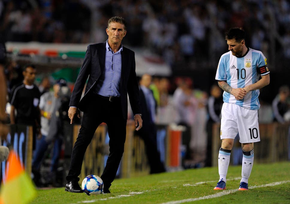 Argentina coach Edgardo Bauza to be sacked as World Cup ...