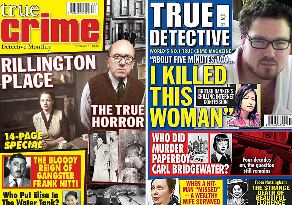 True crime pays: the history of real-life crime magazines