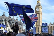 Tens of thousands of people set to take part in anti-Brexit protest