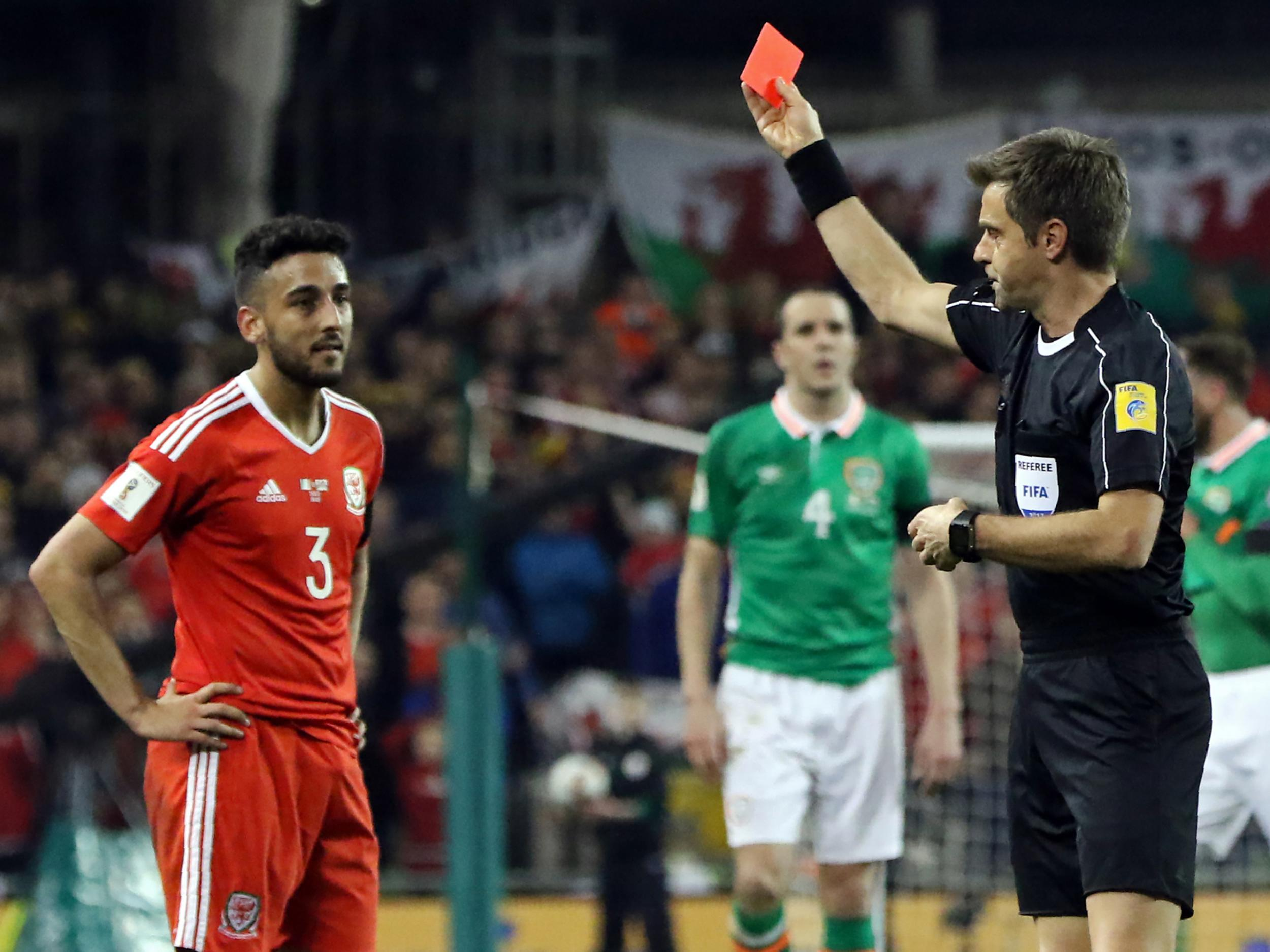 Fifa open proceedings against Neil Taylor for tackle on Seamus Coleman during Republic of Ireland vs Wales