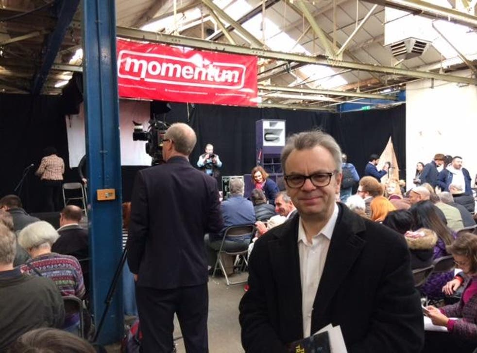 Our man at the Momentum conference in Birmingham: 'More fun and with better food than any pompous New Labour affair'