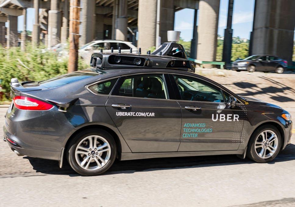 uber self driving car crash