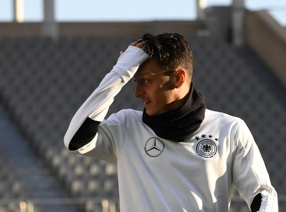 Mesut Ozil's Arsenal future remains firmly up in the air