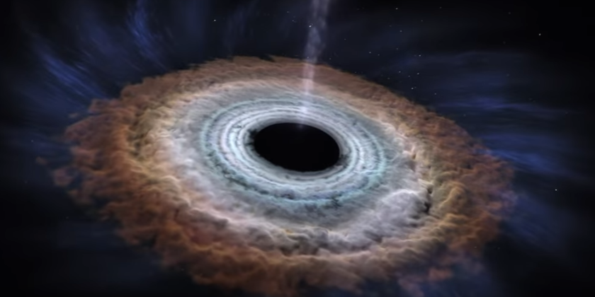 'Supermassive' black hole rocketing through space at five ...
