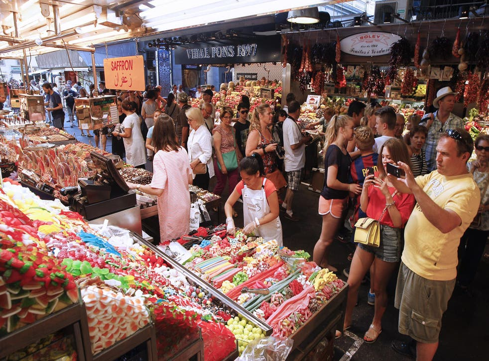 With cities like Barcelona (pictured) getting angry with tourist behaviour, Russia has produced a bizarre guide for its citizens abroad