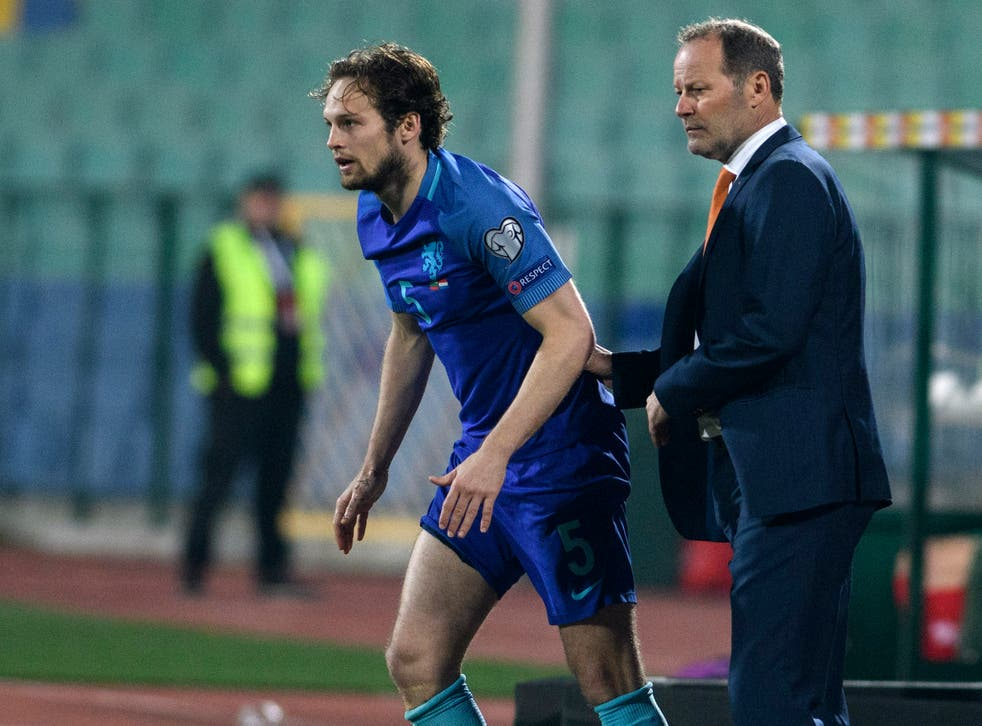 Danny Blind has been in charge of the Dutch since 2015