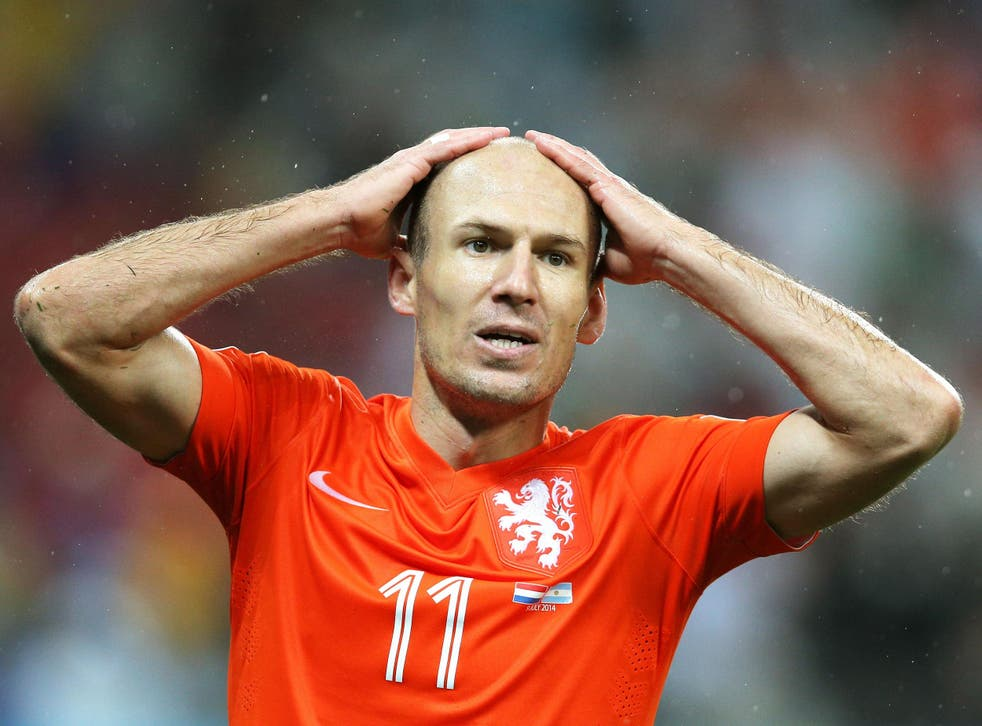 Not even a player of Arjen Robben's quality has been able to arrest Holland's decline