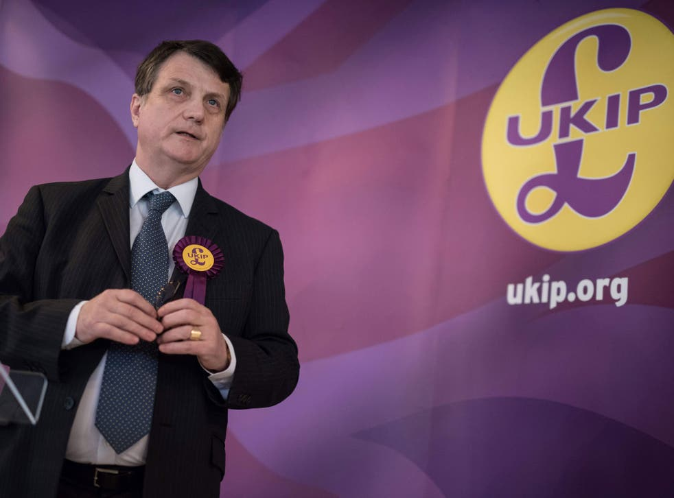 Gerard Batten said Ukip is now able to pay the £150,000 it owes in legal fees