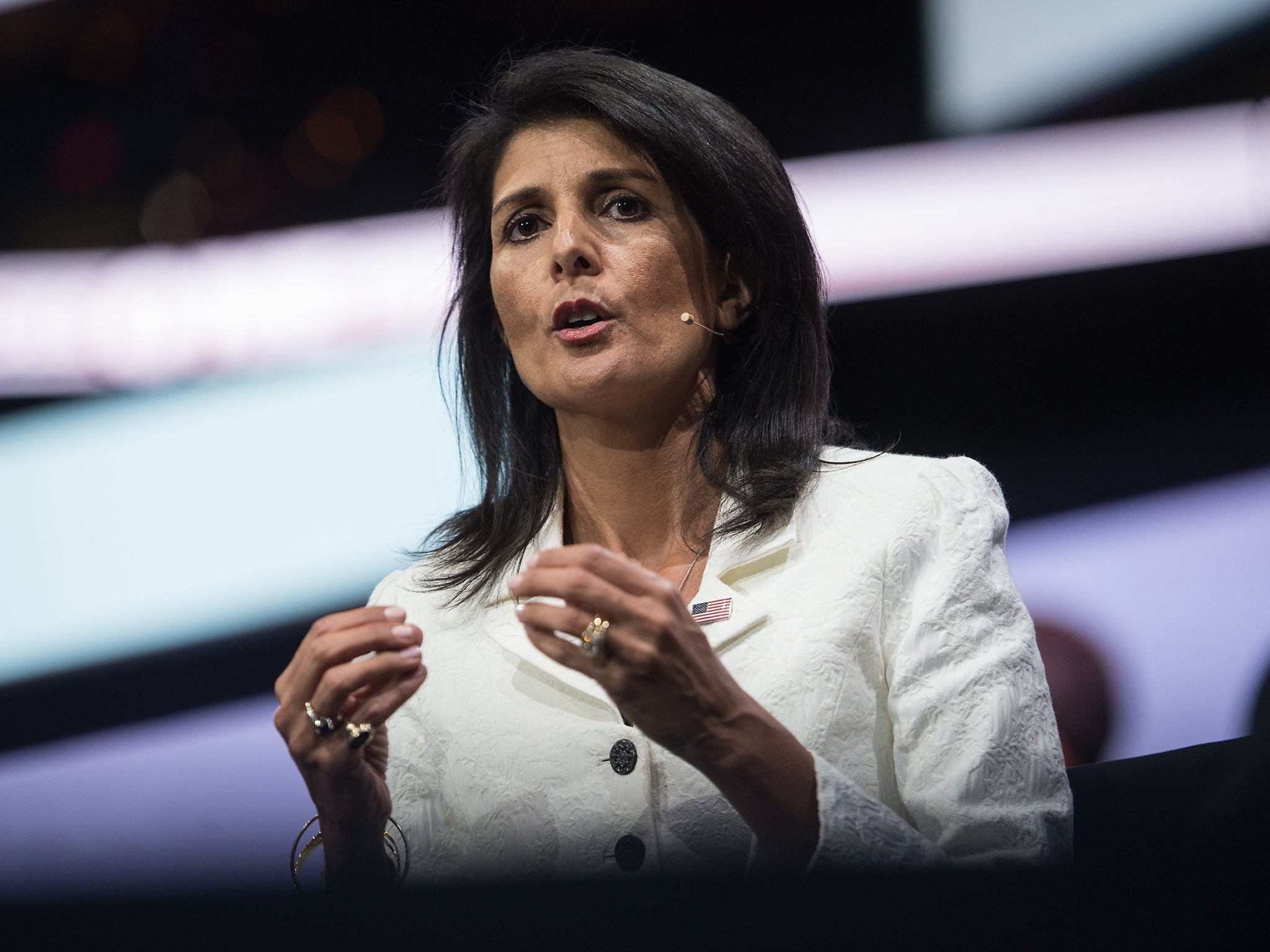 Netanyahu sad to see Nikki Haley go as Palestinians breathe sigh of relief