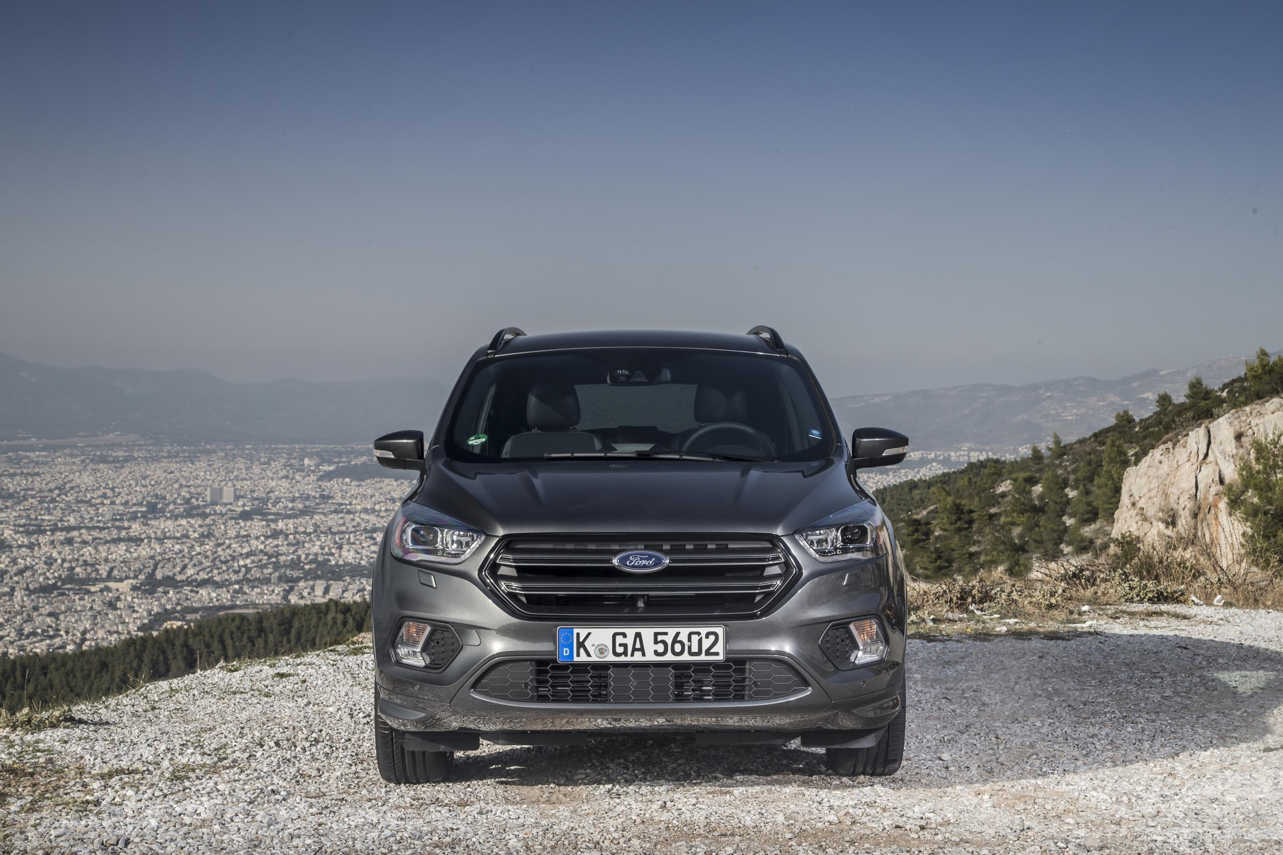 car review ford kuga 2 0 tdci powershift awd the. Black Bedroom Furniture Sets. Home Design Ideas