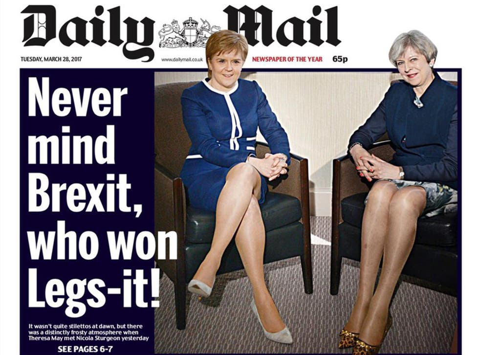 The front page drew immediate criticism from politicians, commentators and members of the public after it appeared on Twitter