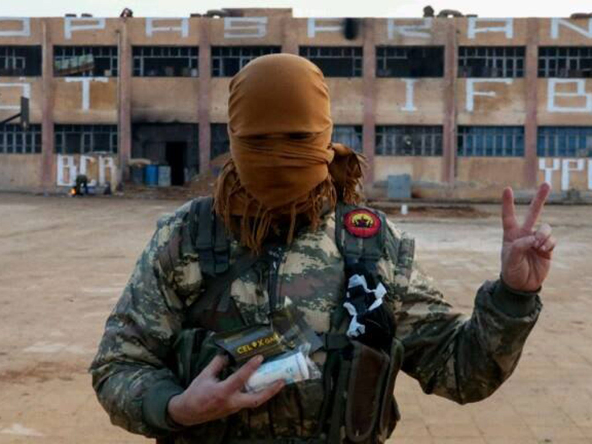 British Antiisis Fighters 'trolling' Terrorists In Syria