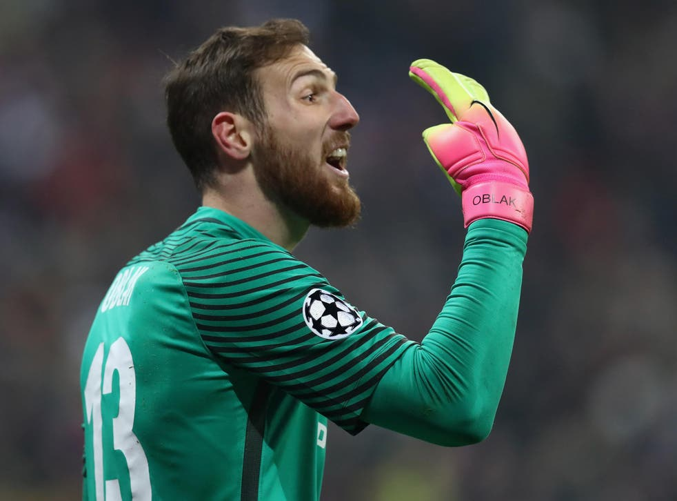 Atletico Madrid's Jan Oblak has emerged as Manchester United's number one goalkeeping target