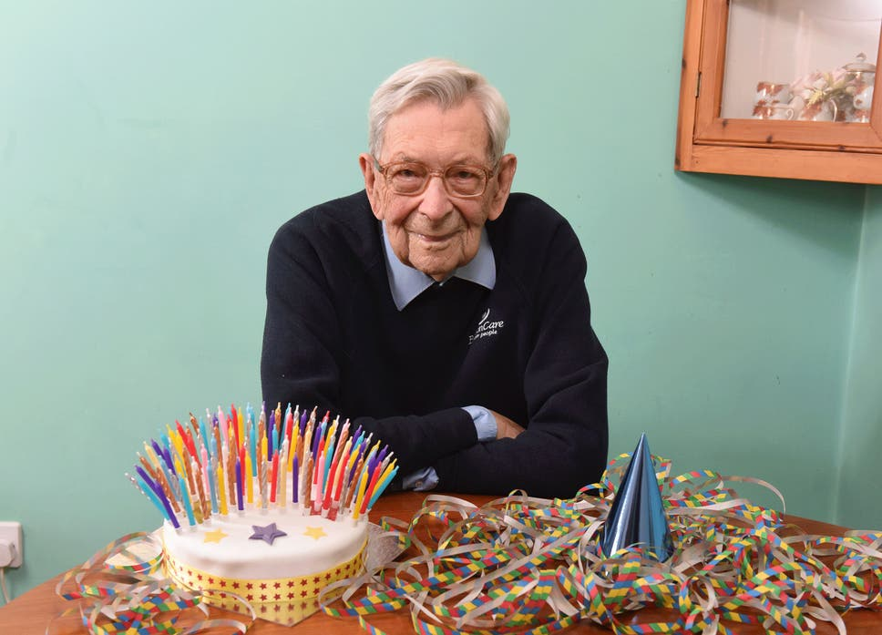 Britains Oldest Man Turns 109 Years Old Today But Refuses Birthday