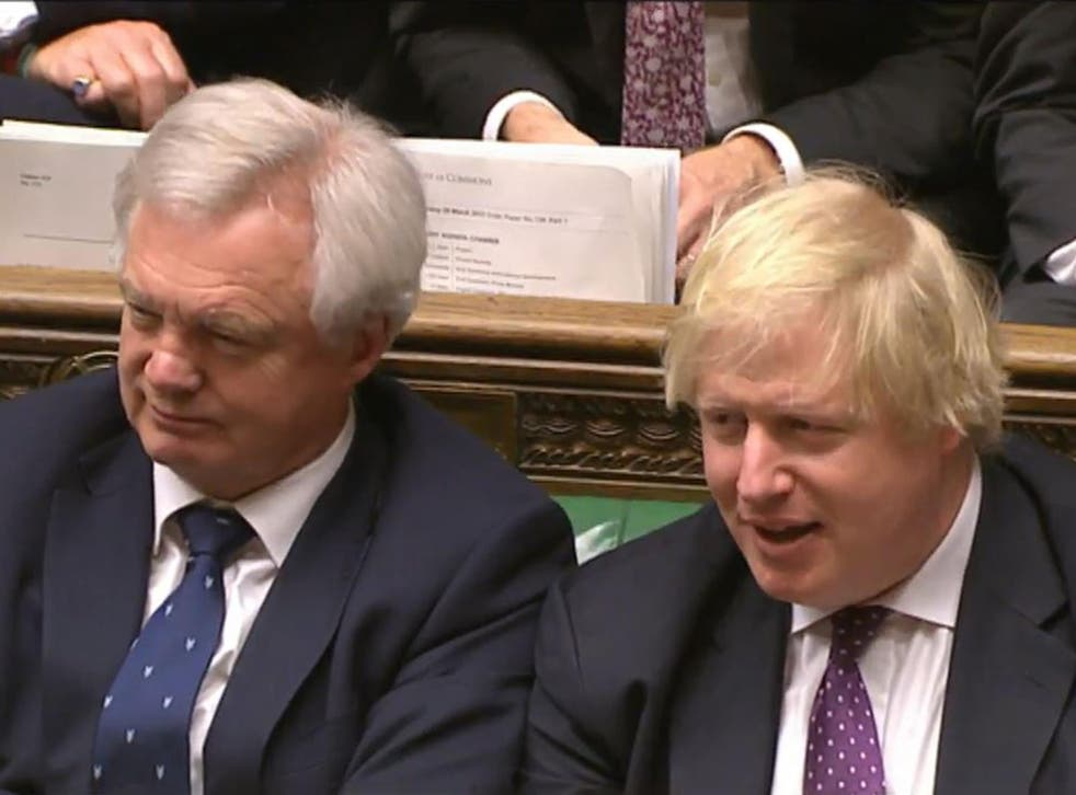 David Davis said some EU laws 'will not work' in the UK after Brexit