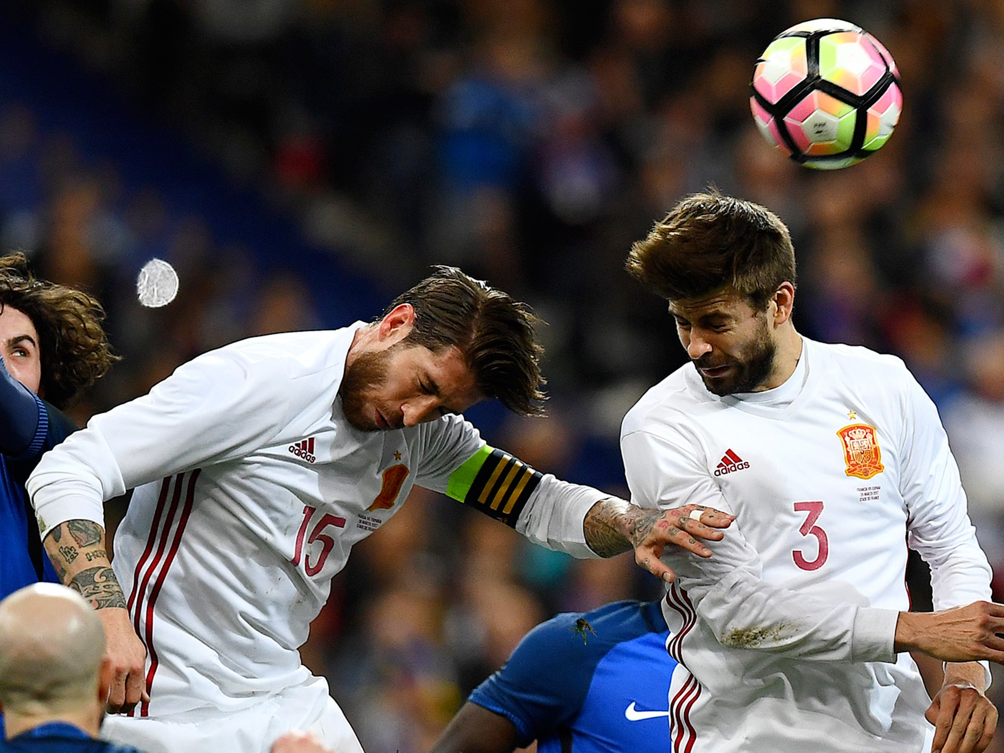 Sergio Ramos jokes at Gerard Pique s expense after Barcelona