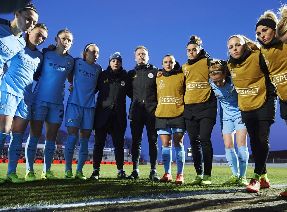 City's women's side are looking to reach the Champions League semi-finals on Thursday