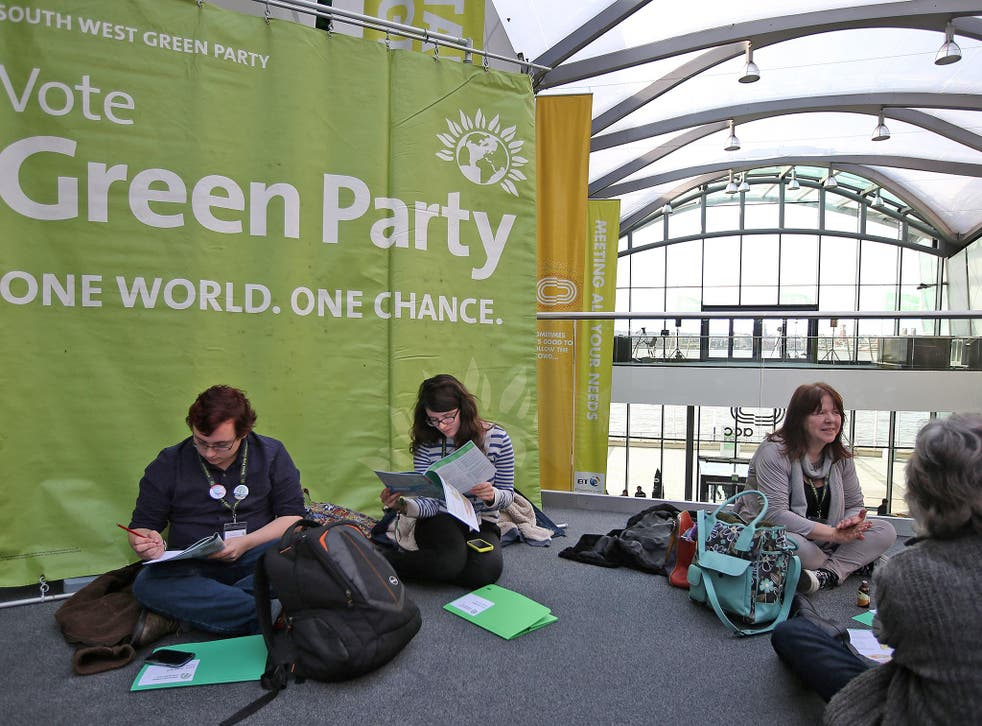 The ACC in Liverpool hosted the UK Green Party conference in 2015