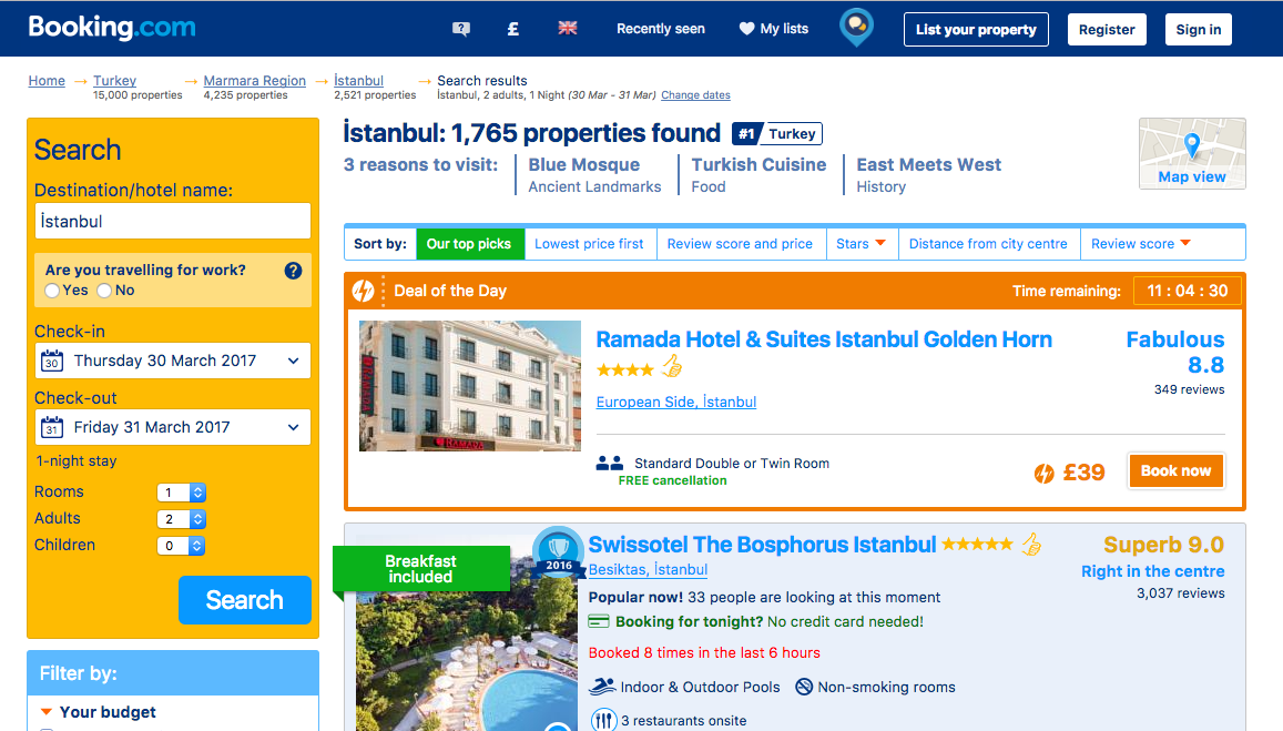 Turkish court bans travel website the for Agence reservation hotel