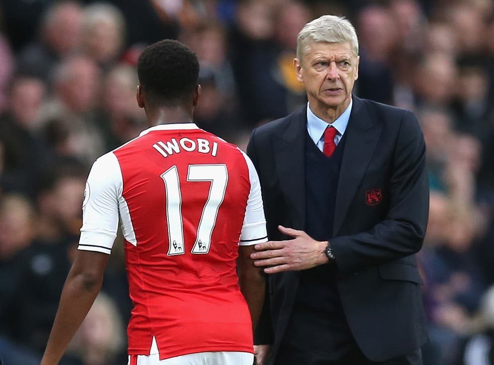 The young Nigerian winger doesn't think sacking Wenger is the answer