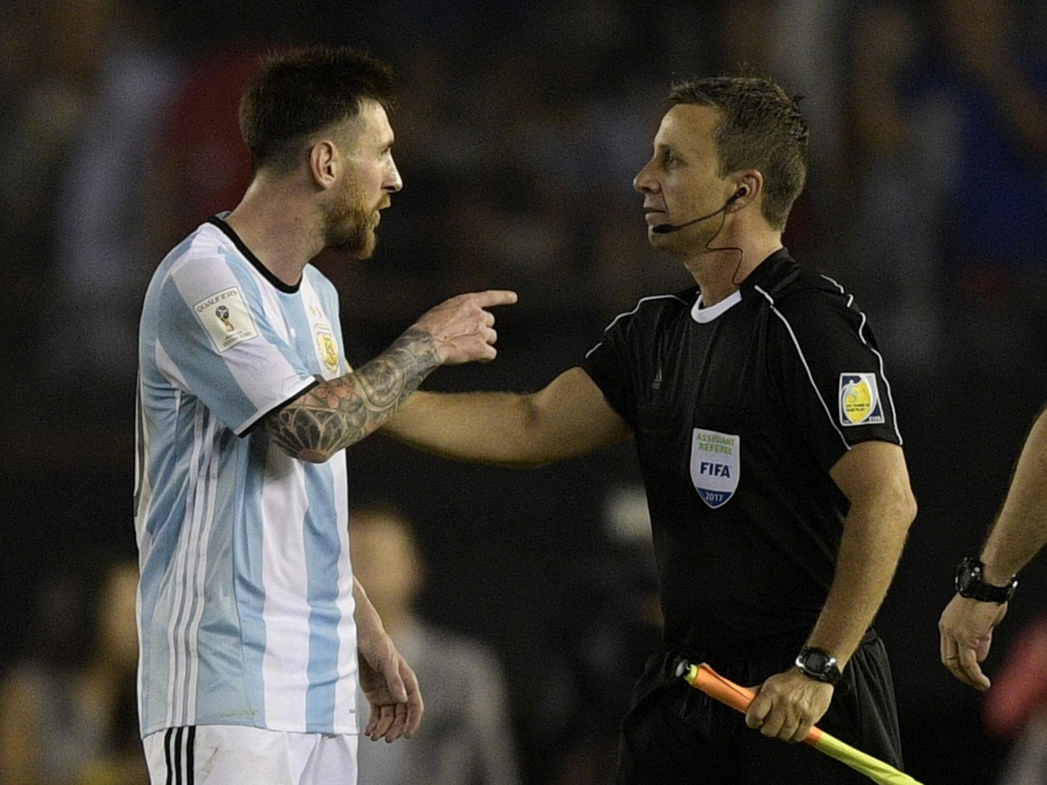 Lionel Messi claims he didn't tell official to 'f*** off, the c*** of your mother' as Diego Maradona calls him a 'teddy bear'