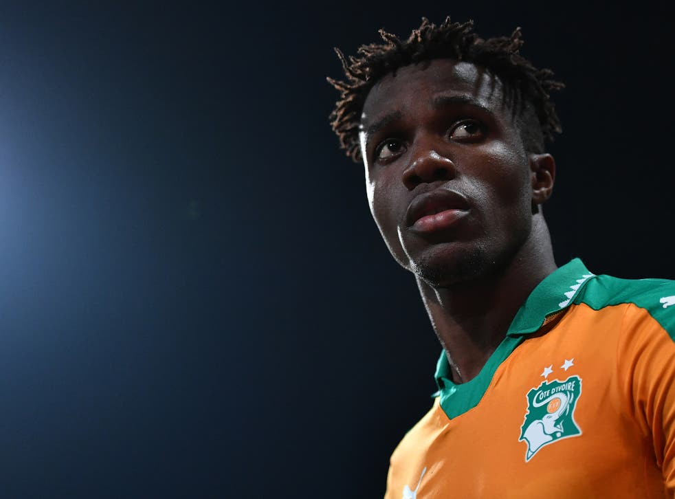 What is easy about Zaha playing for the Cote d'Ivoire, and not England?