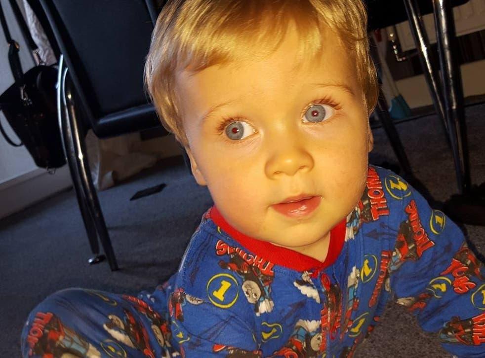 Kayden Bancroft died at Manchester Royal Children's Hospital