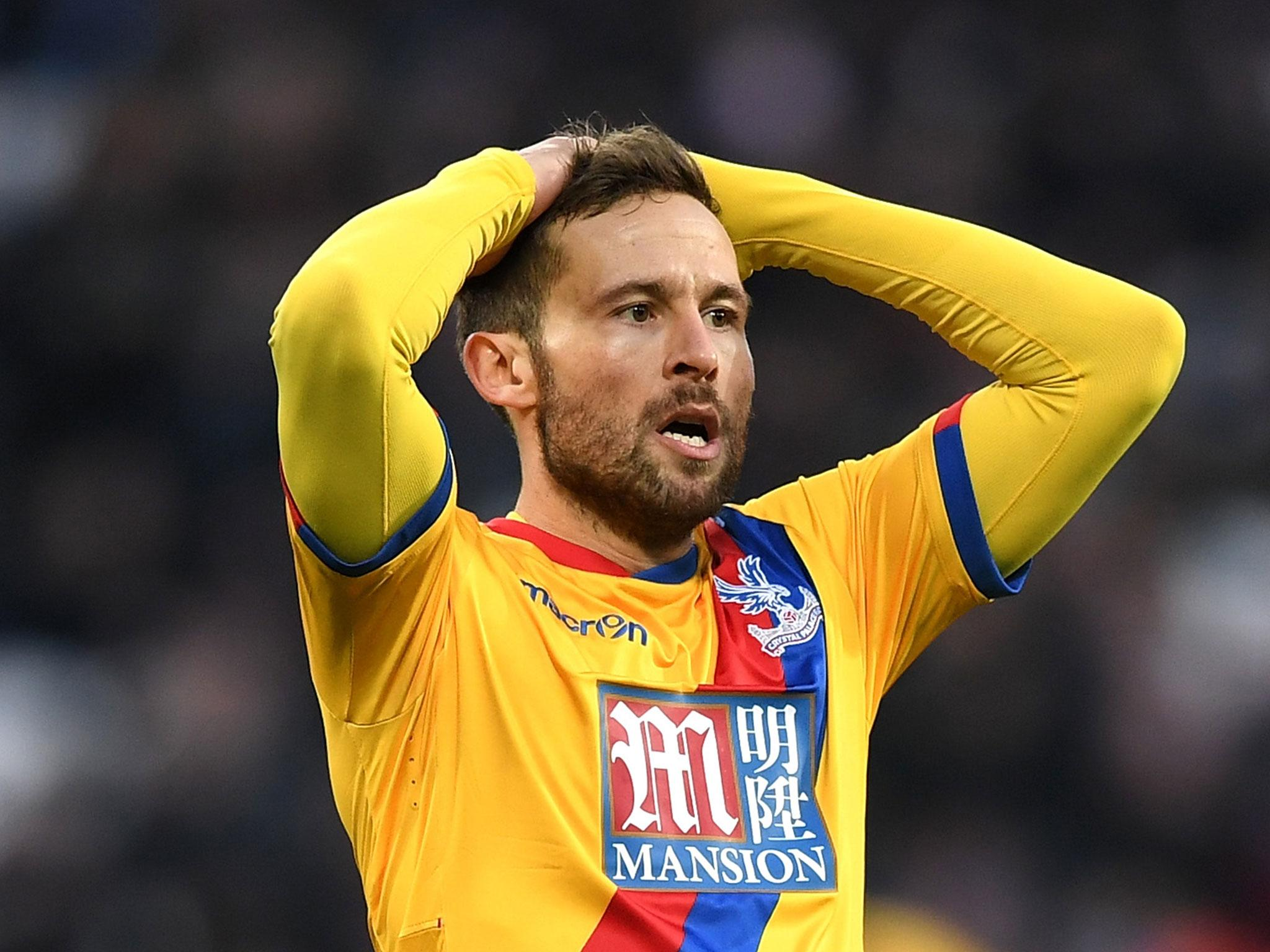 Yohan Cabaye wants to leave Crystal Palace for Marseille this