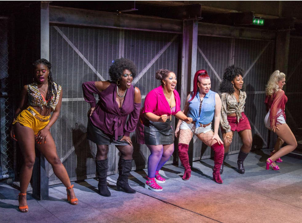 Sharon D Clarke (second left) with the cast of 'The Life' at Southwark Playhouse
