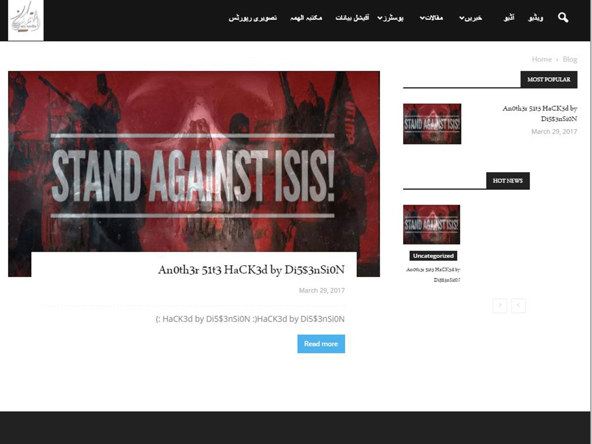 Isis losing ground in online war against hackers after Westminster ...