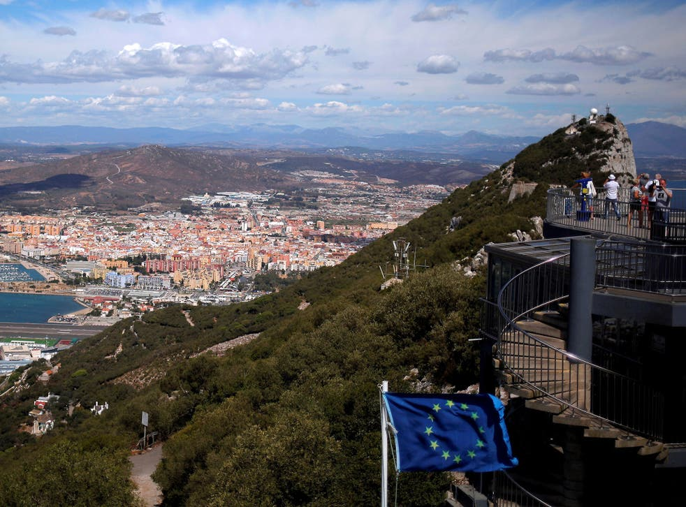 The UK government has said it is committed to protecting Gibraltar during Brexit negotiations