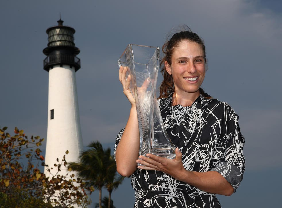Konta's win in Miami is the biggest of her career