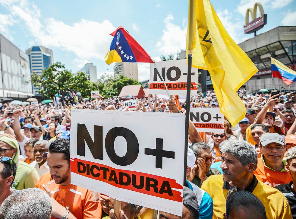 The population of Venezuela is suffering from high inflation and an unstable political environment